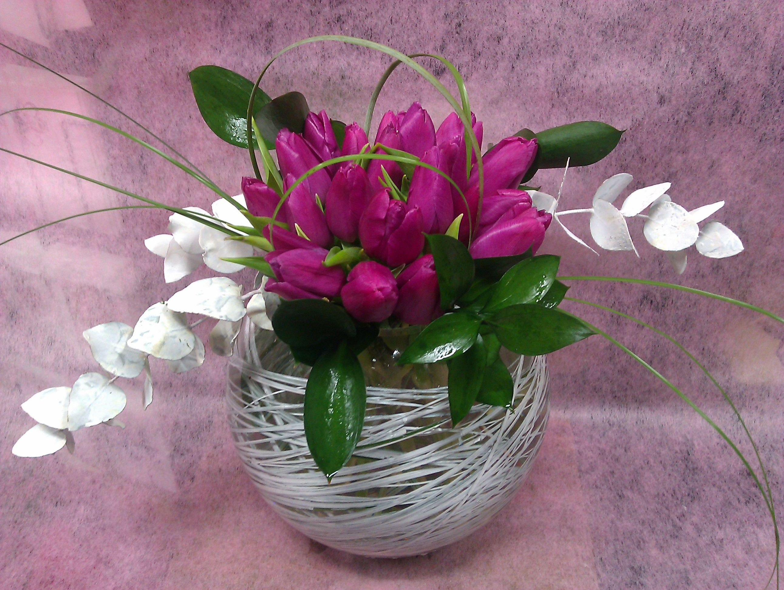 Decoración con flores