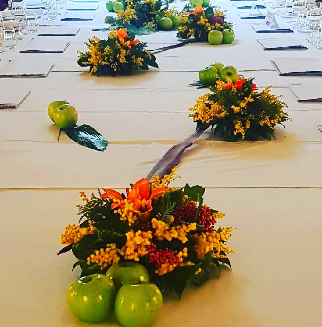 Decoración floral de eventos para empresas