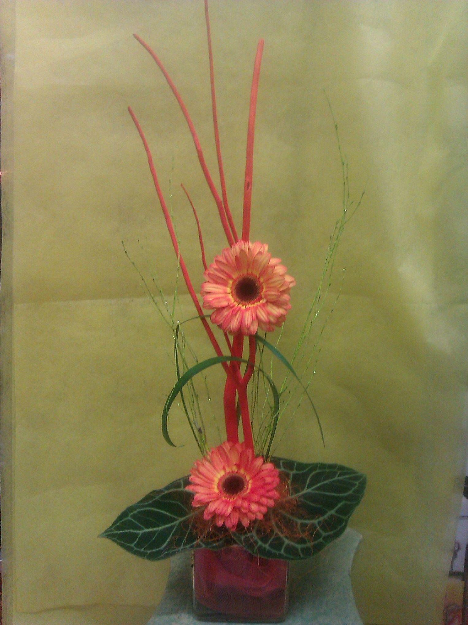 Arte floral en Madrid