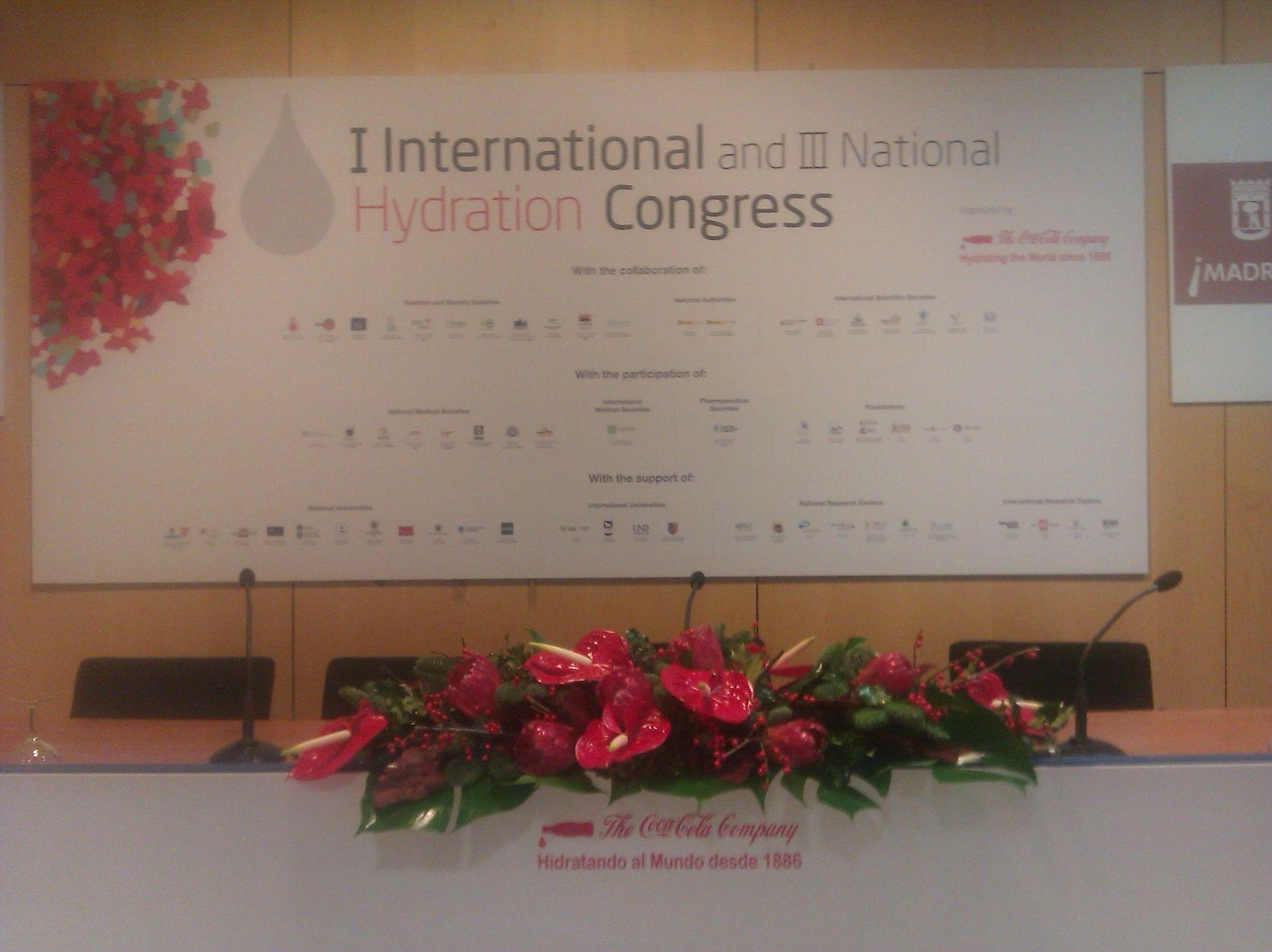 Especializados en decoraciones florales de grandes eventos, congresos