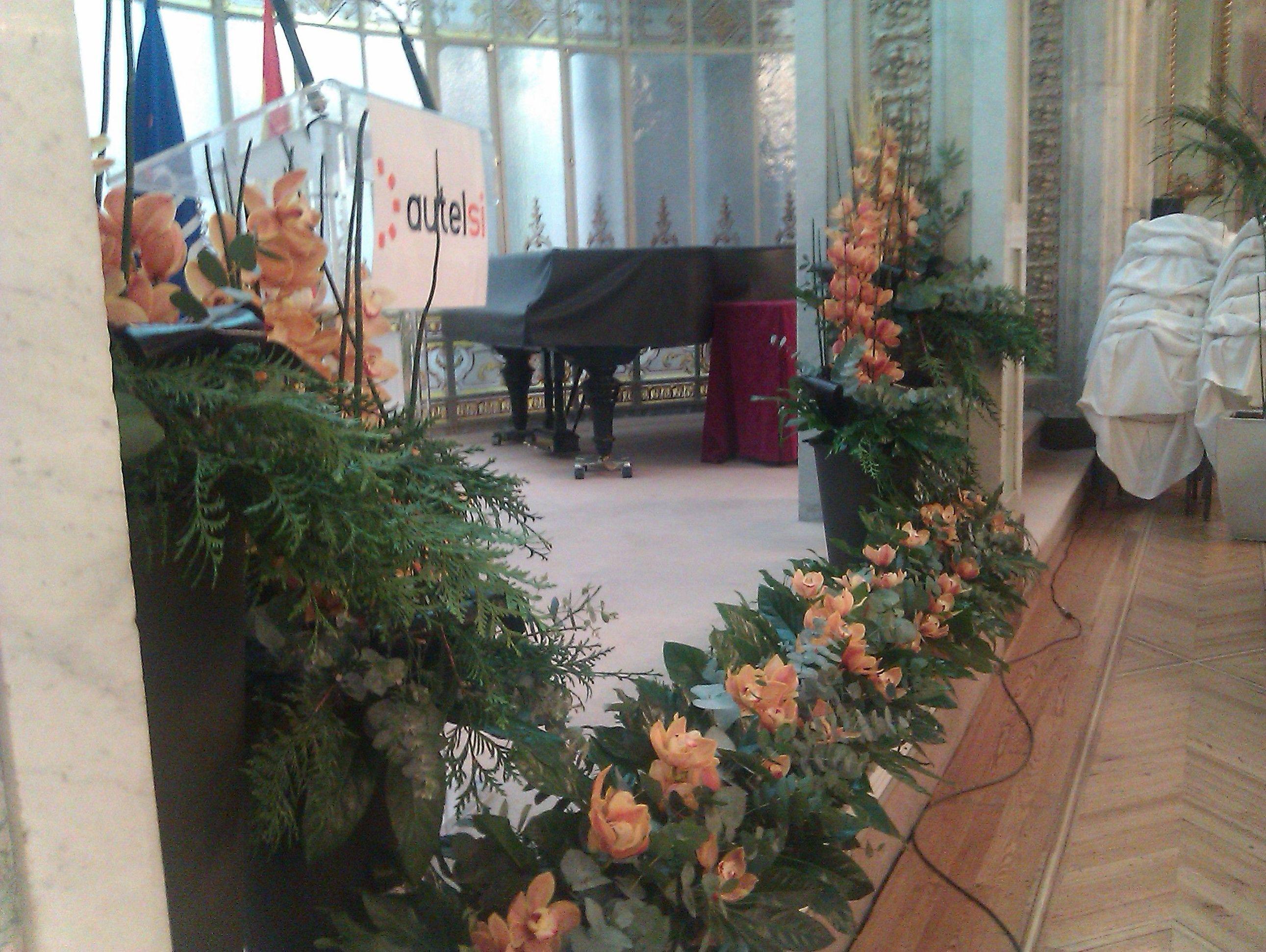 Decoración de eventos con flores