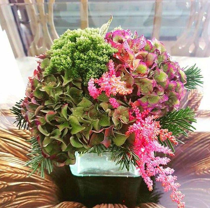 Flores otoñales