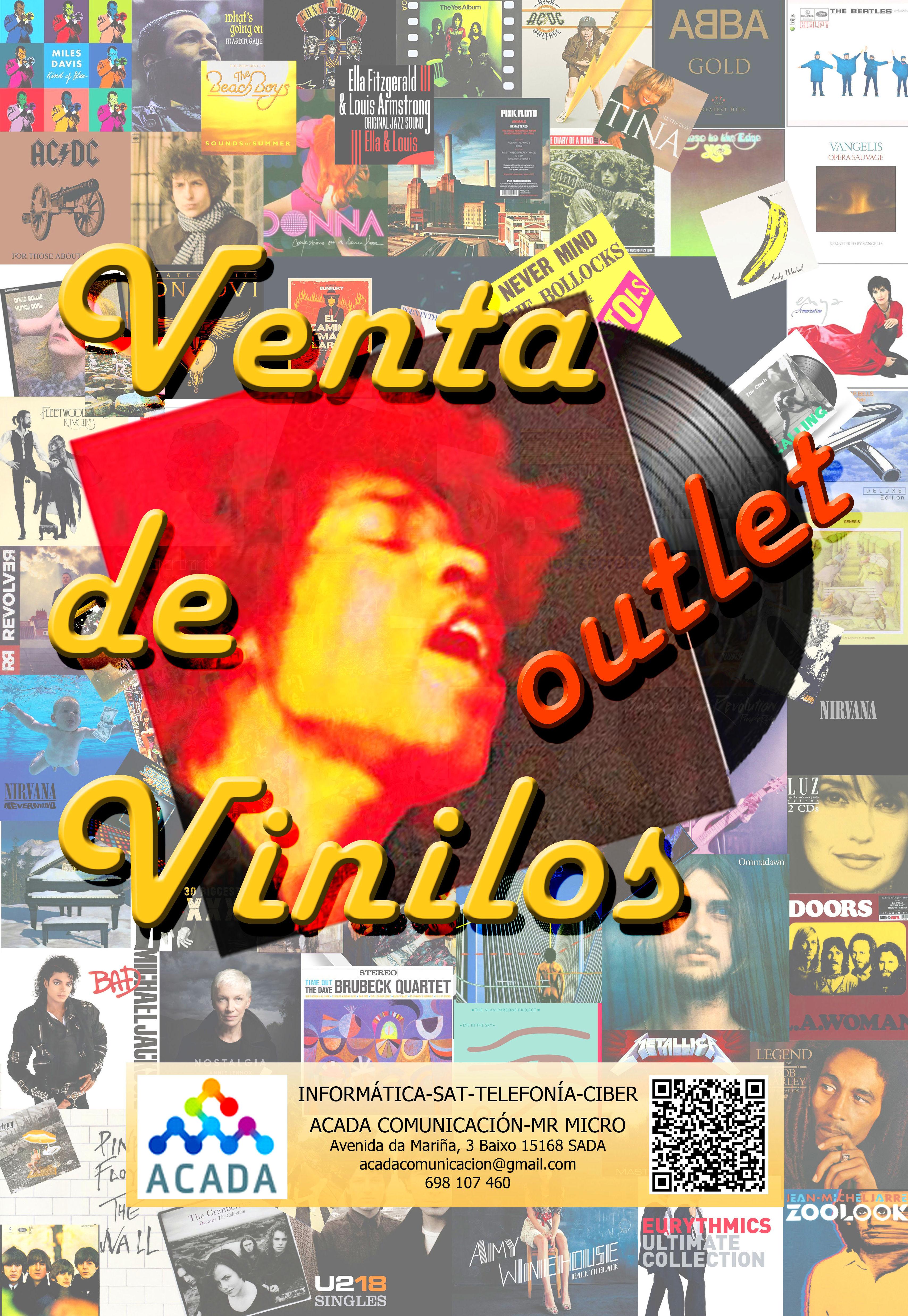 OUTLET de Vinilos (Lp-Single)