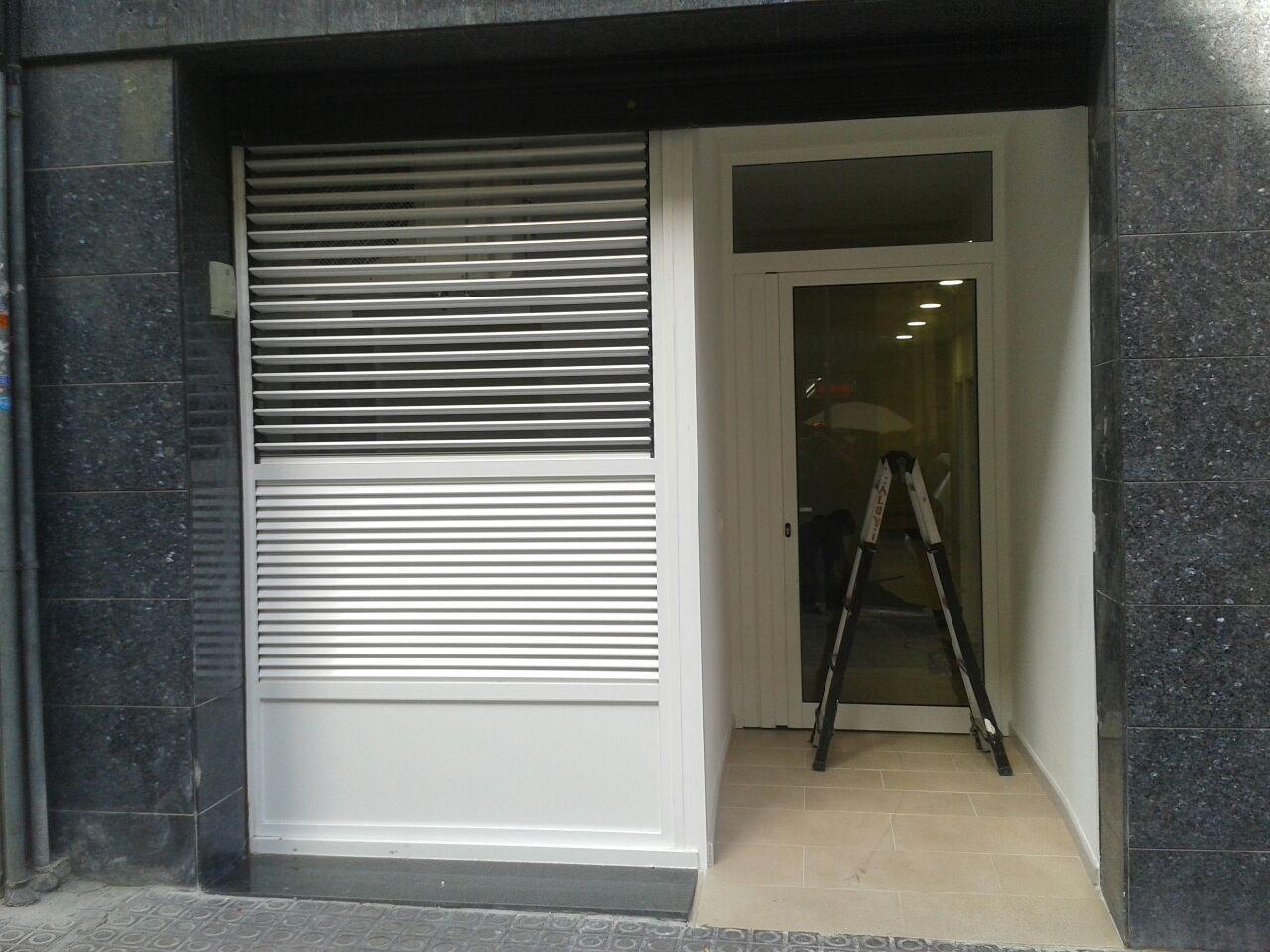 Instalación y reparación de persianas y rejas de seguridad en Barcelona
