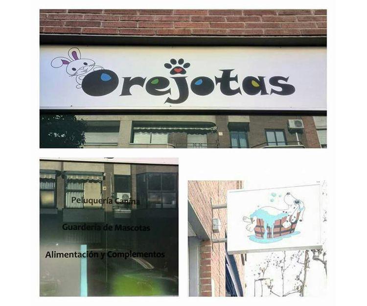 Fachada de nuestra tienda de accesorios para mascotas