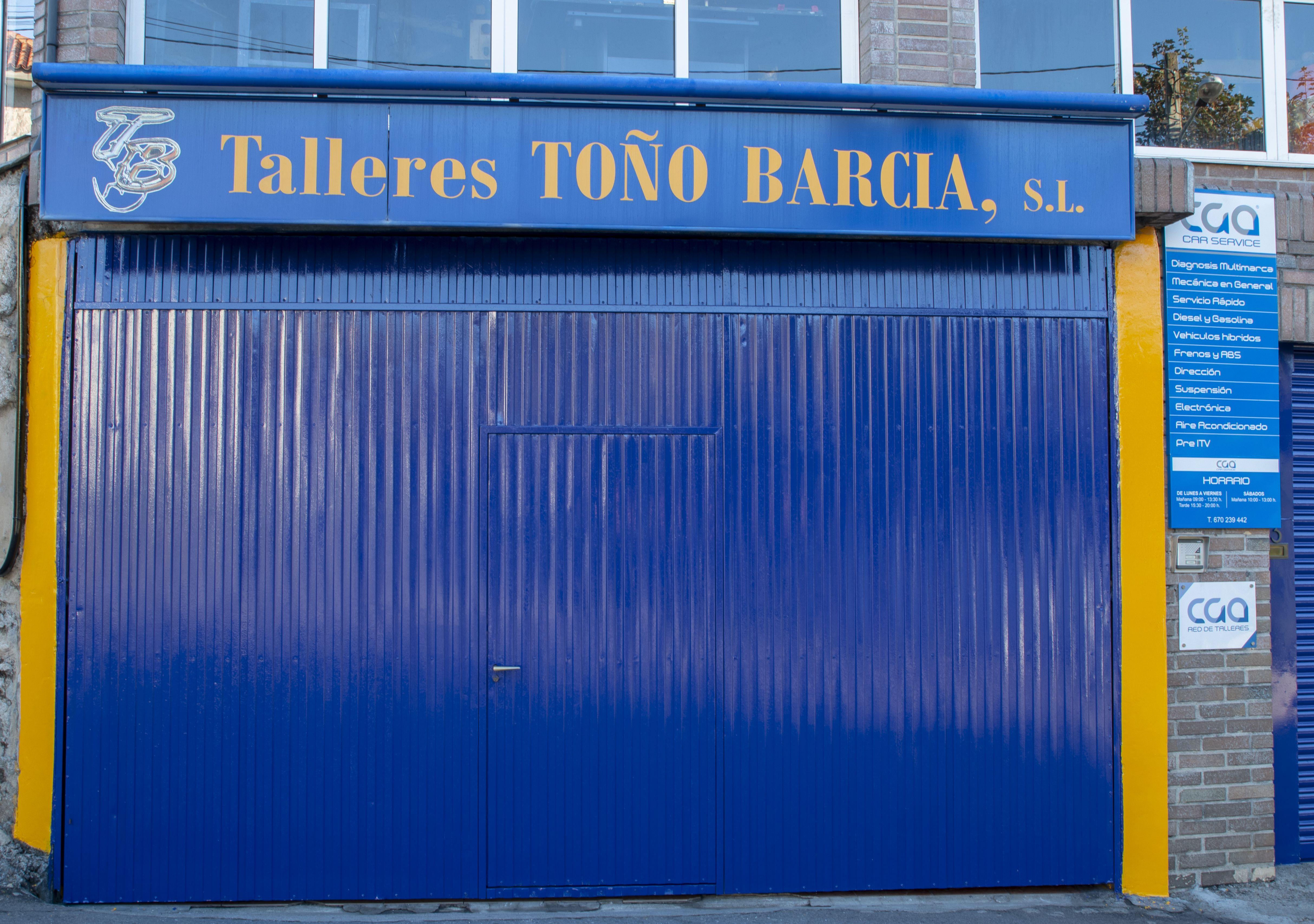 Garaje Talleres Toño Barcia