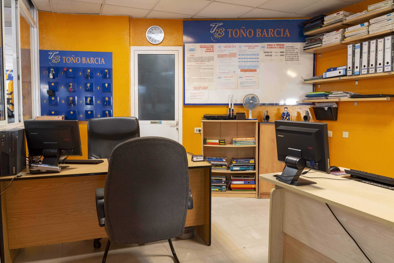 Oficina Talleres Toño Barcia