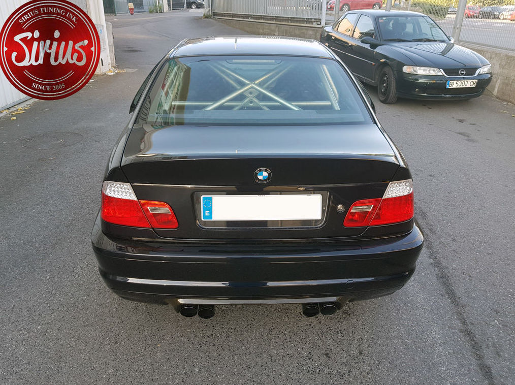 BMW M3 E46 - Arco tras.