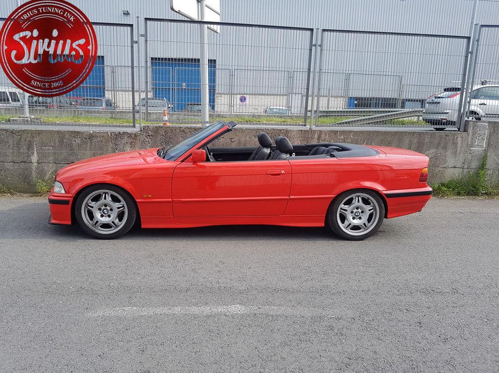 BMW E36 Cabrio - Tatechnix Coilovers