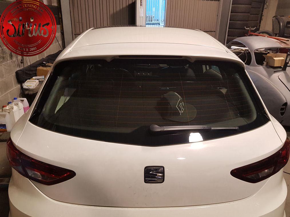 Seat Leon 5F - Añadidos alerón