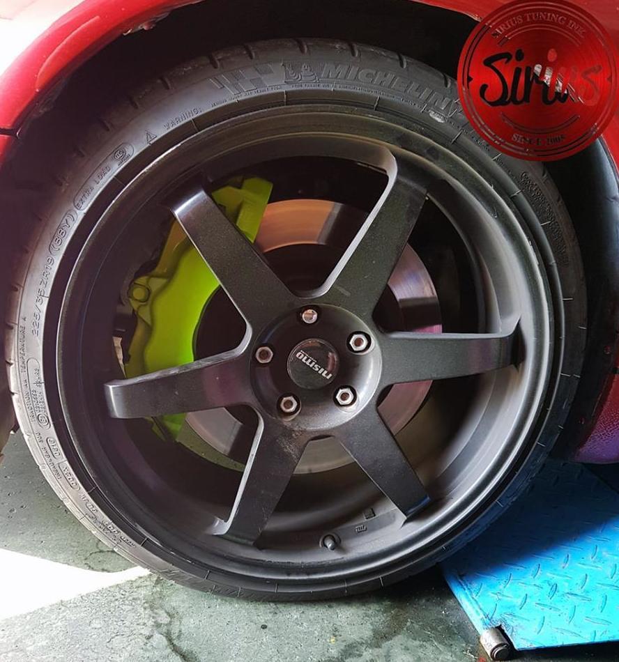 Nissan 300ZX - Pintura frenos