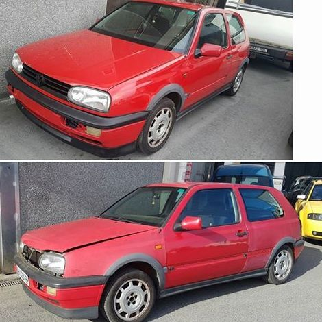 VW Golf 3GTI - Finalizado }}