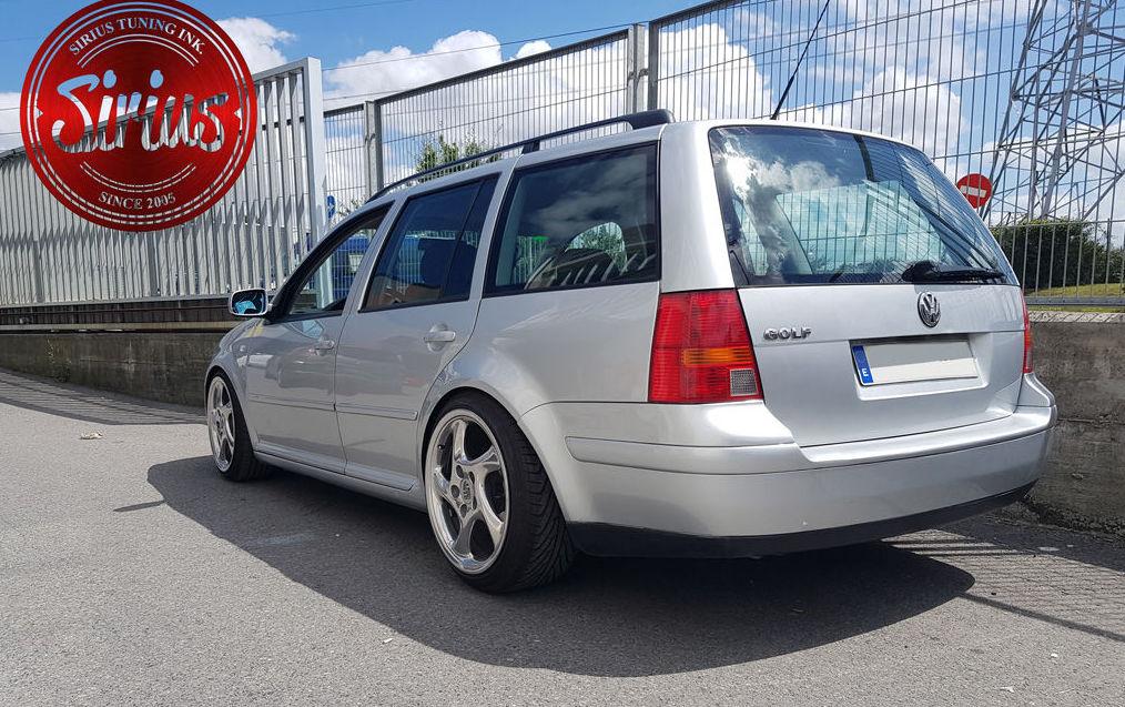 VW Golf 4 Variant - TaTechnix + Porsche