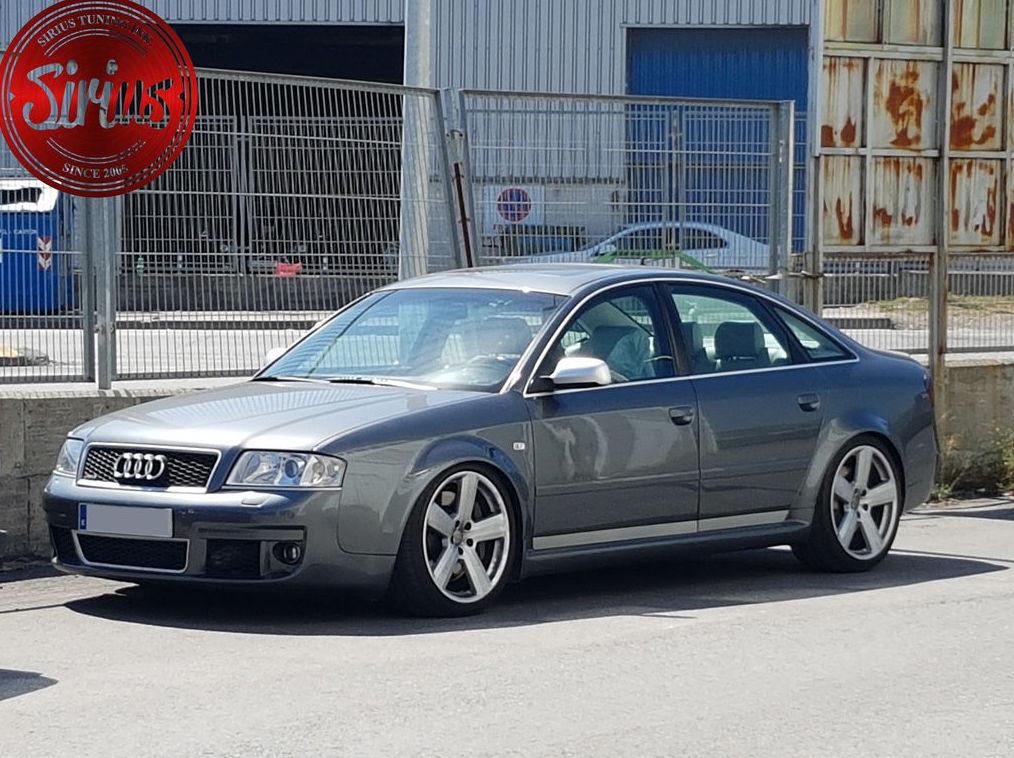 Audi RS6 - Ajuste de suspensión