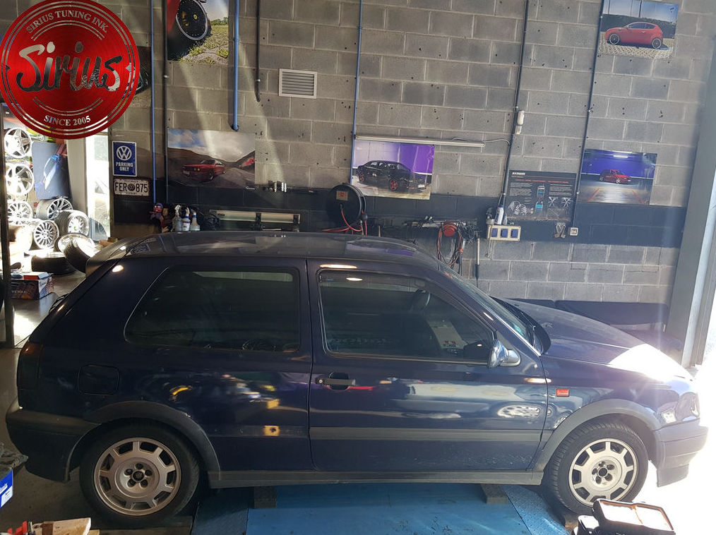 VW Golf 3 - Coilovers