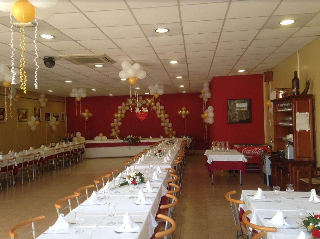 Restaurante para celebraciones Vilafranca del Penedès