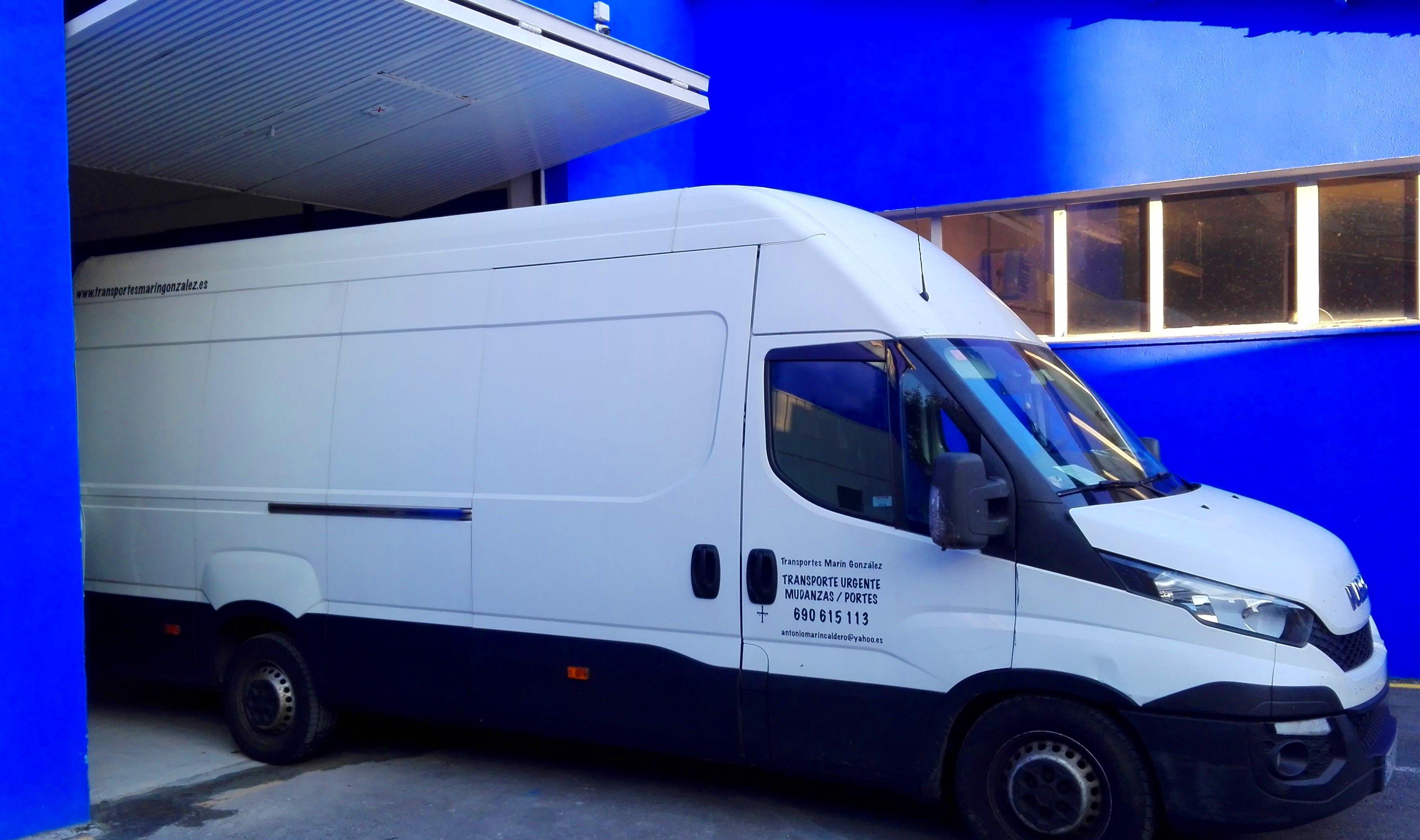 Foto 1 de Mudanzas y guardamuebles en  | Transportes Marín González