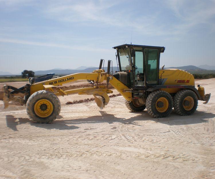 Excavadoras en Andalucía