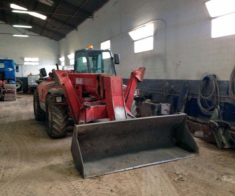 Máquinas excavadoras en Andalucía