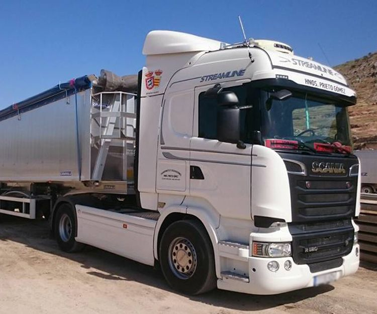 Empresa de transporte en Andalucía