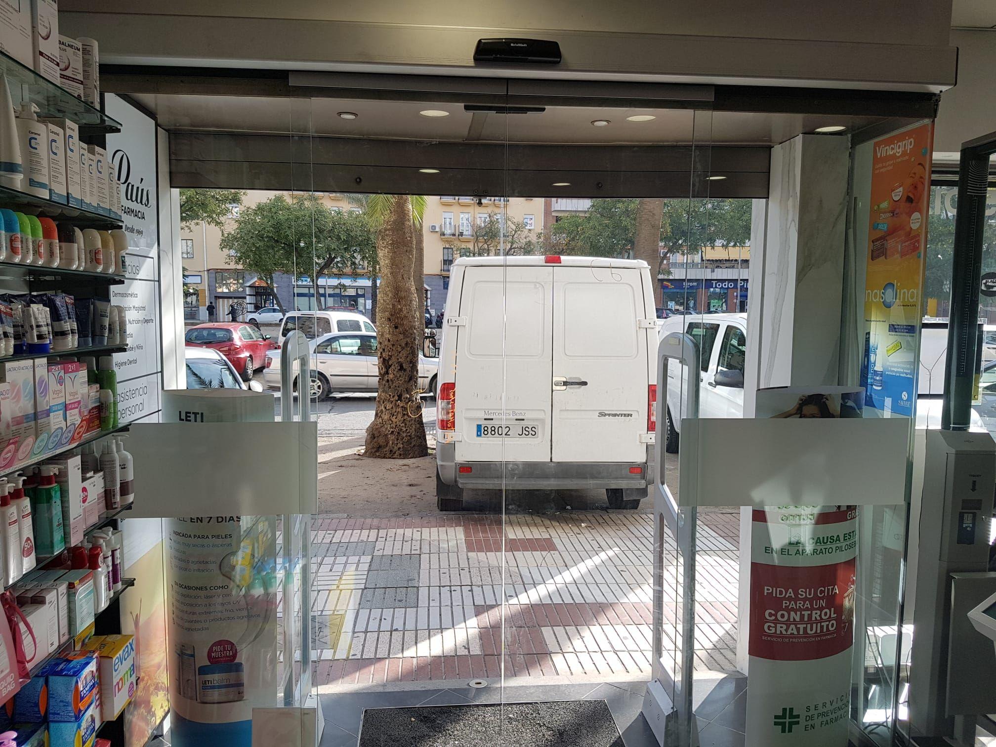 Puerta corredera de crista Huelva