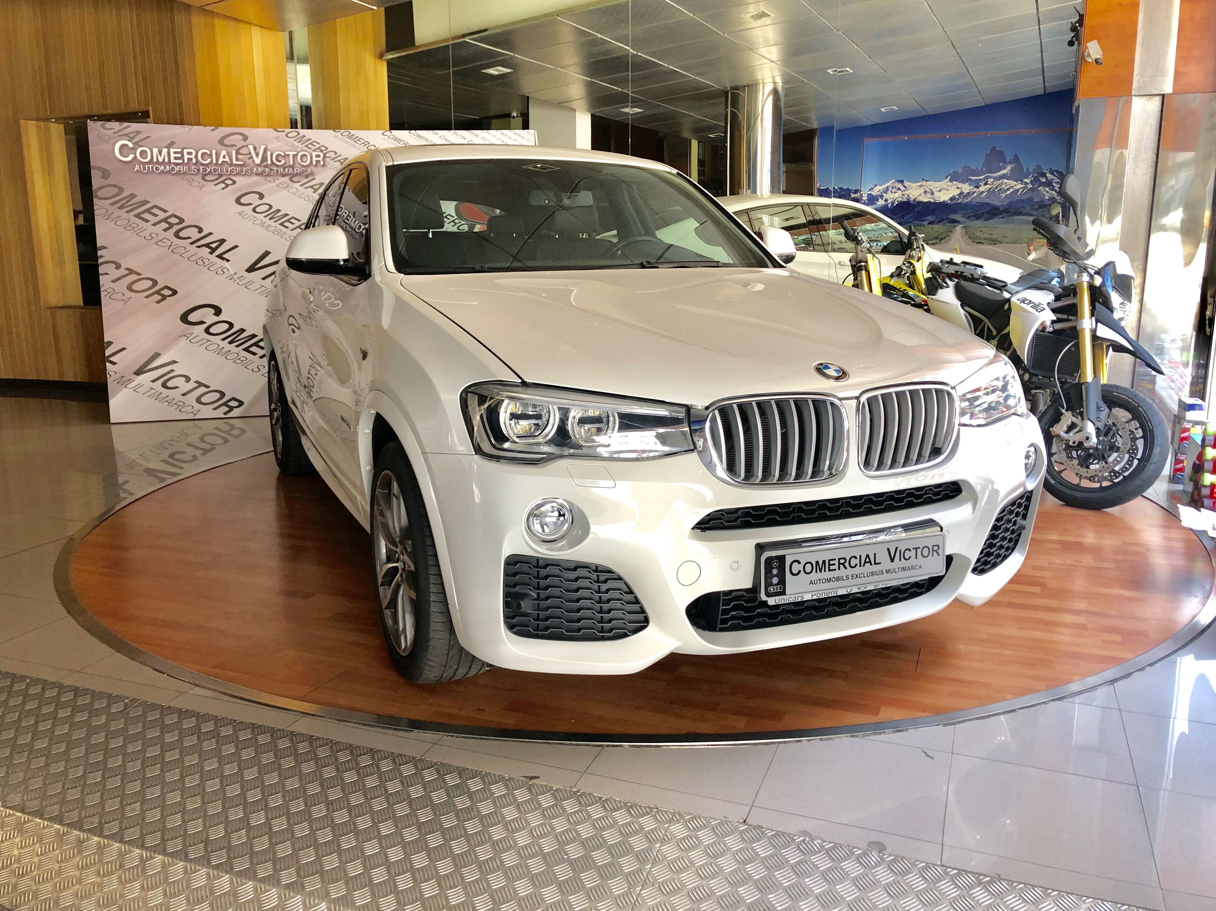 BMW X4 3.0 Paquete M seminuevo