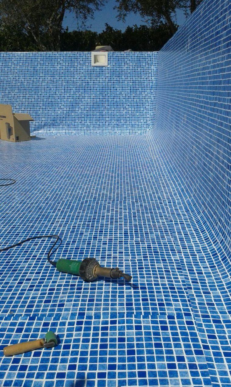 Impermeabolización con PVC piscinas Flagpool.