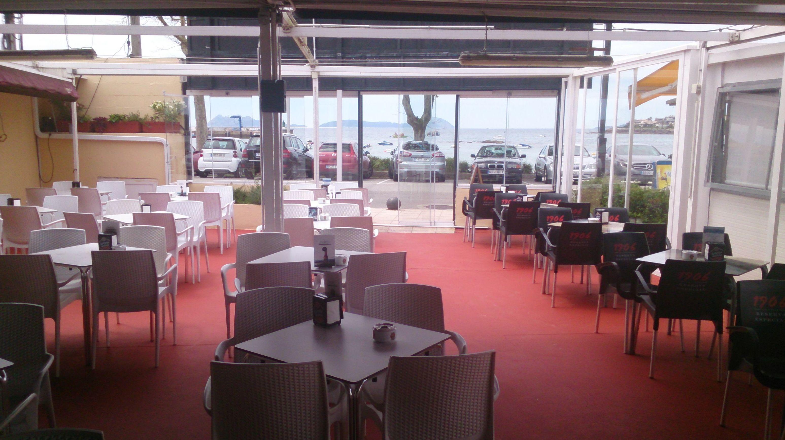 Foto 1 de Restaurante en vigo | Ondas de Canido
