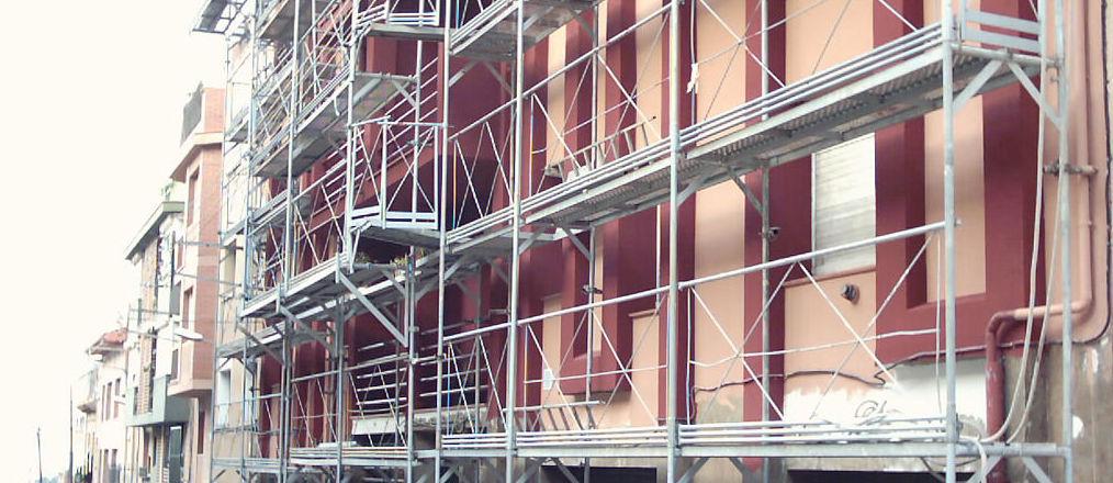 Rehabilitacion de fachadas.