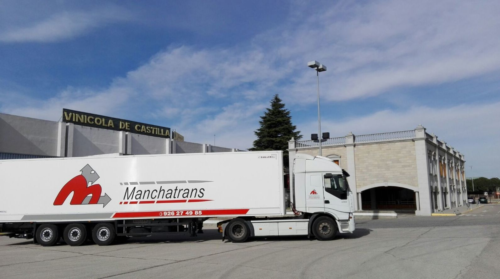 Foto 7 de Transporte de mercancías por carretera, mar y aire en Ciudad Real | Manchatrans