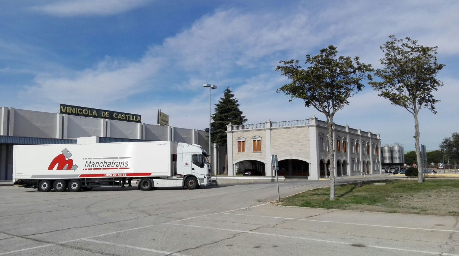 Transporte nacional: Servicios de Manchatrans