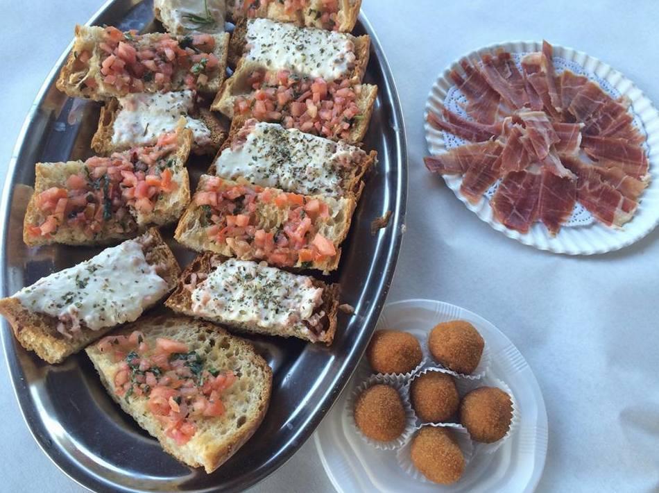 Entrantes: Carta restaurantes   de Teletrusco