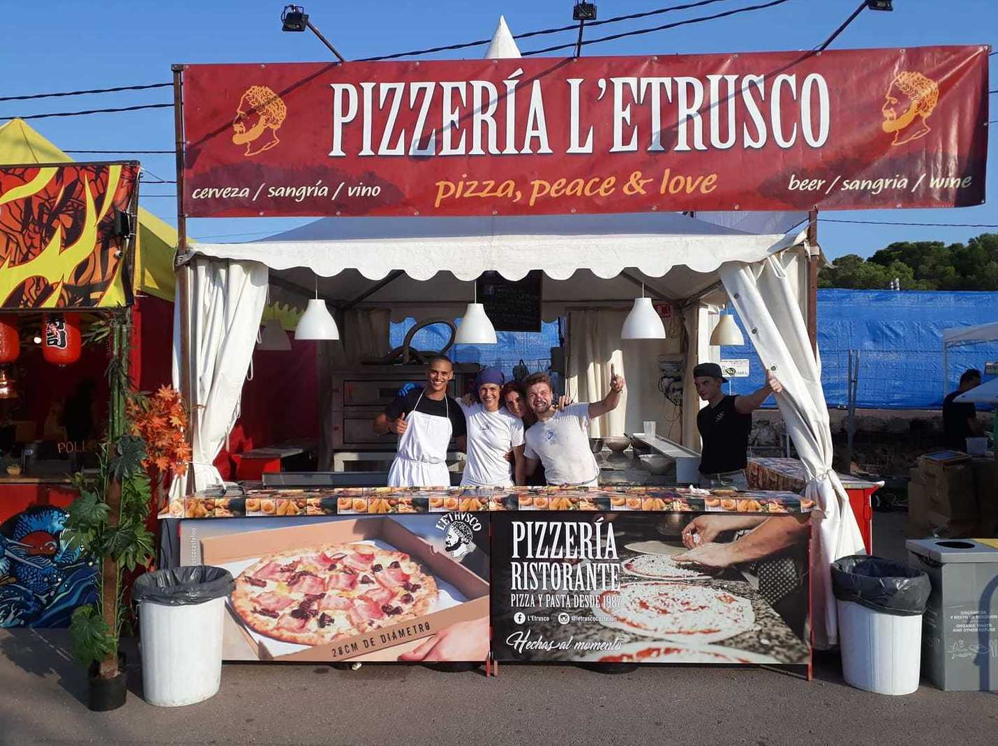 Foto 1 de Pizzerías en Castelló de la Plana | Teletrusco