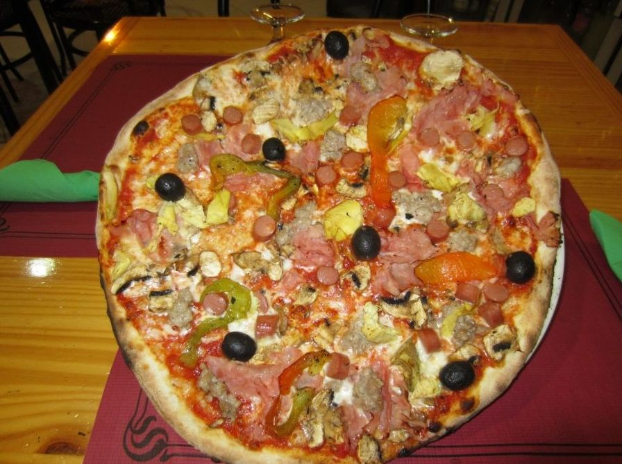 Restaurante pizzería italiana