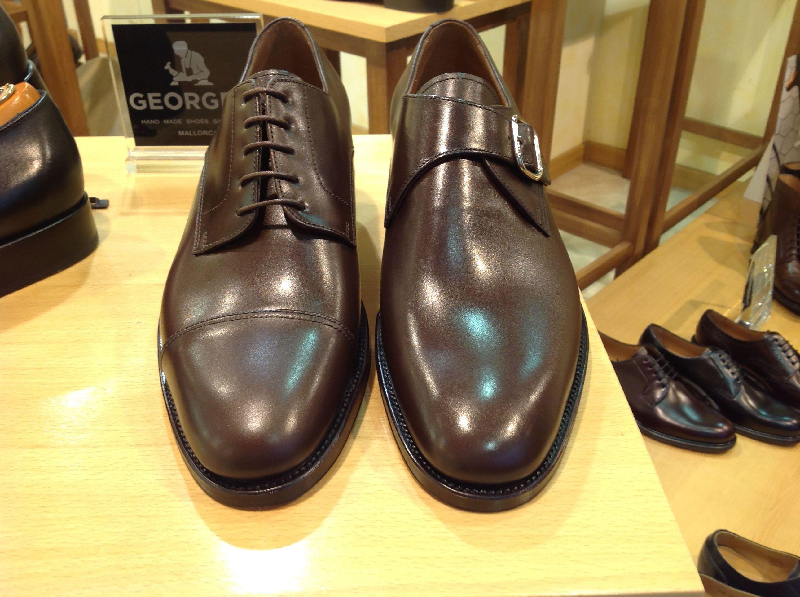Zapatos George´s en el barrio de Salamanca