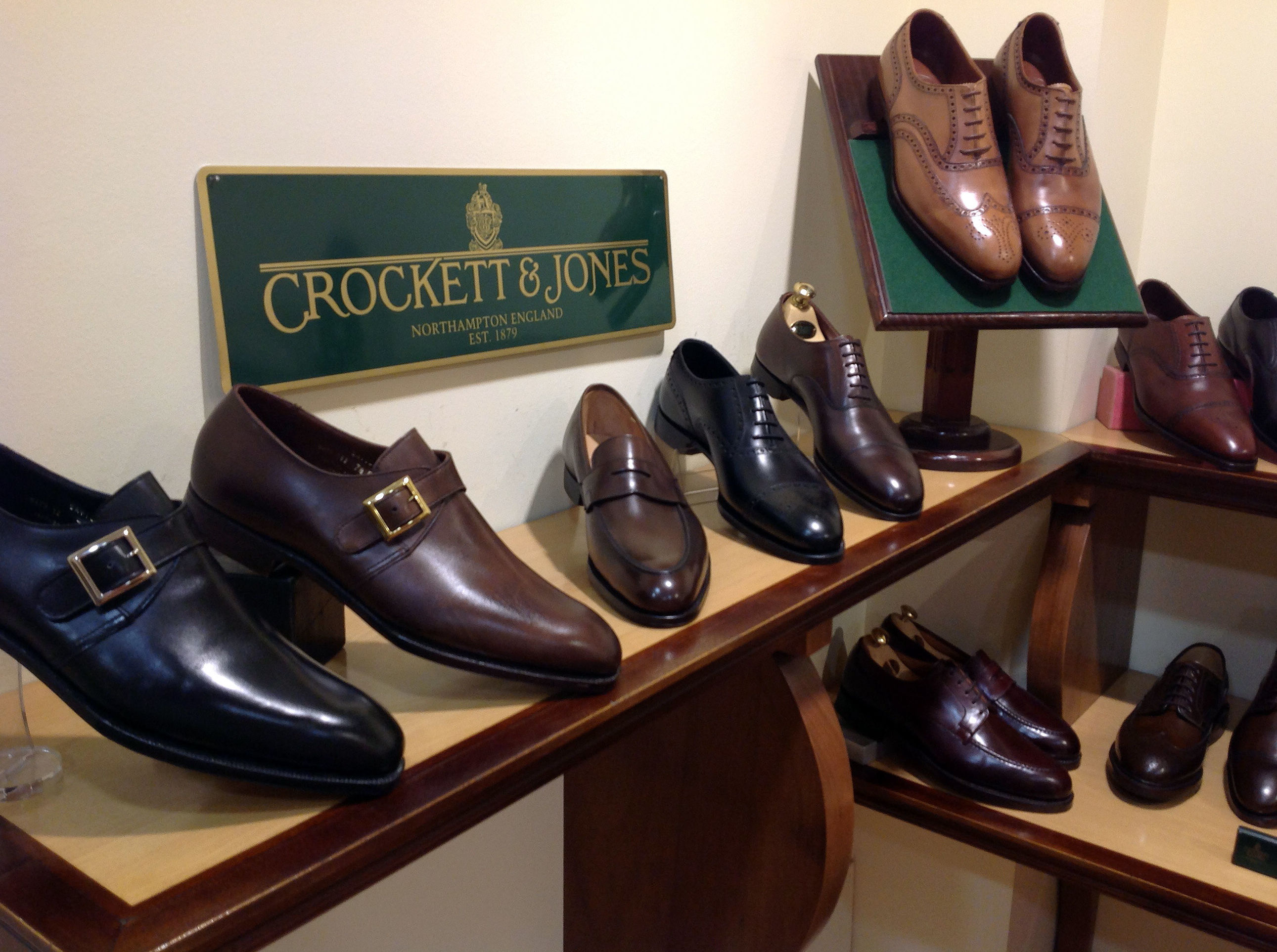 Zapatos Crockett & Jones en Madrid
