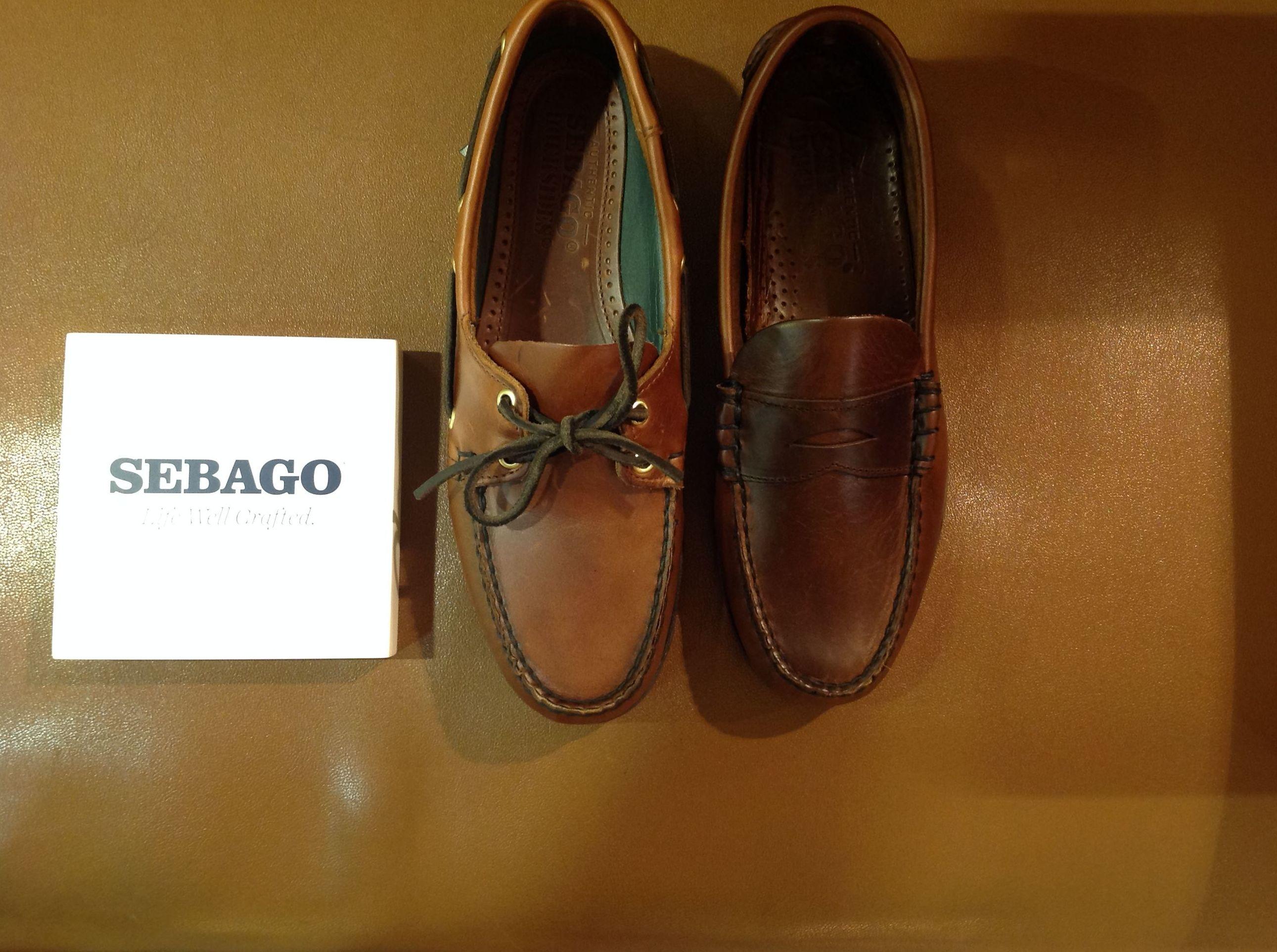 Zapatos Sebago en Tubet en el barrio de Salamanca en Madrid