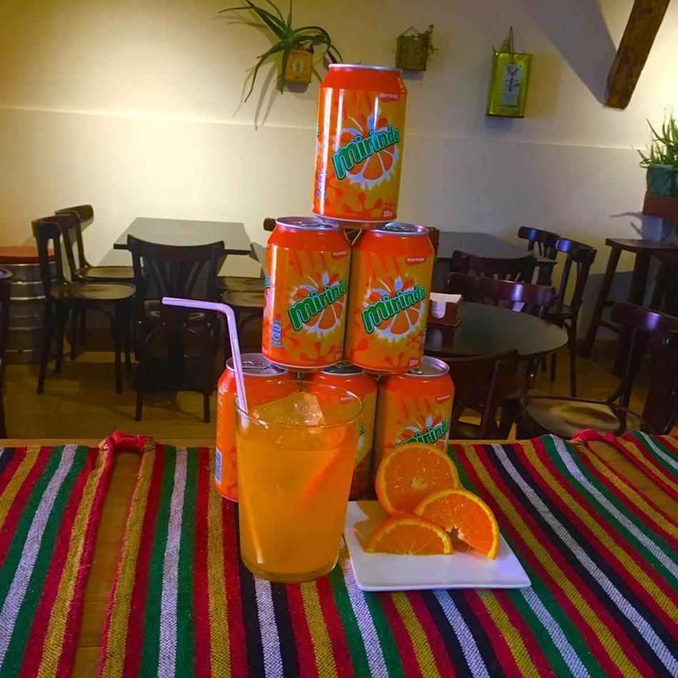 Mirinda de naranja
