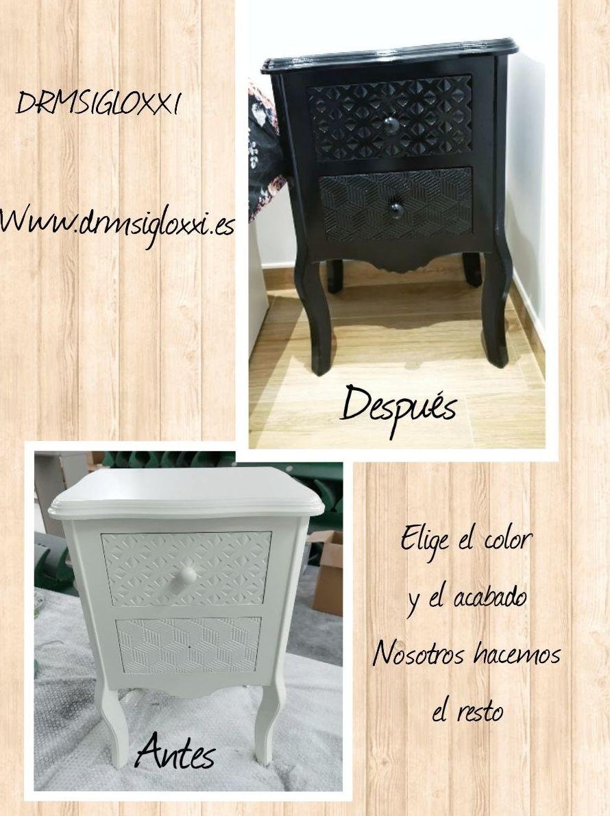 Foto 4 de Pintado, barnizado y lacado de muebles en    DRM Siglo XXI
