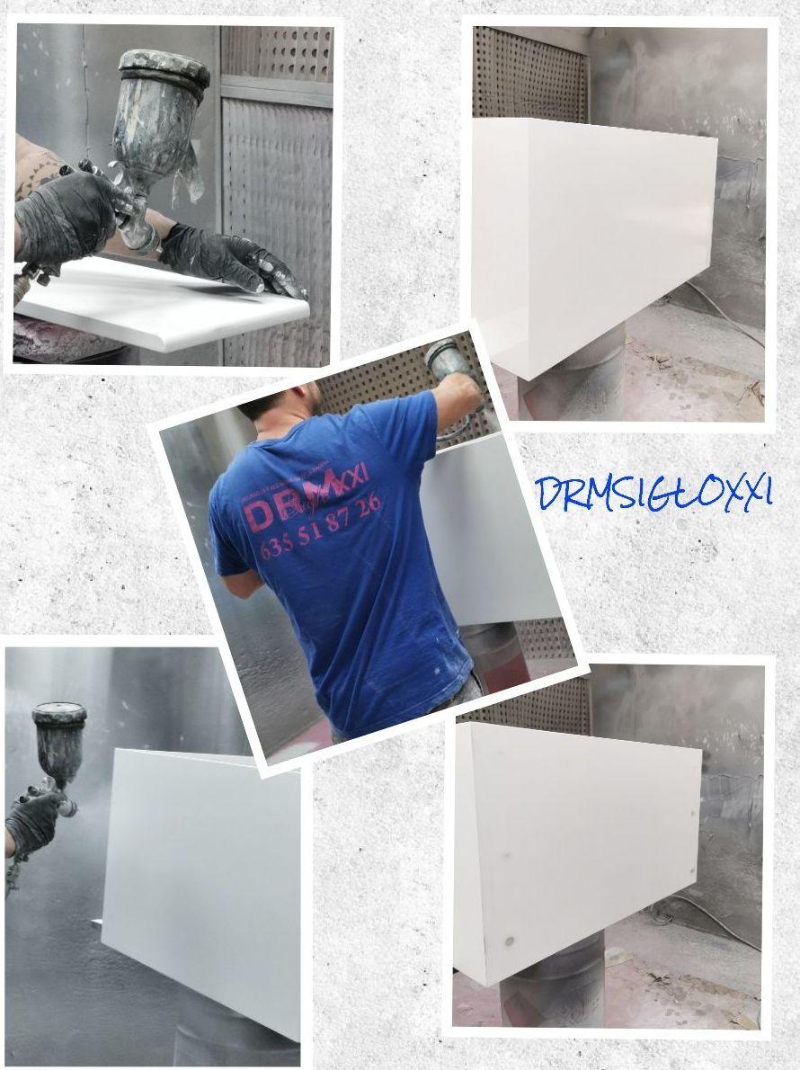 Foto 7 de Pintado, barnizado y lacado de muebles en  | DRM Siglo XXI