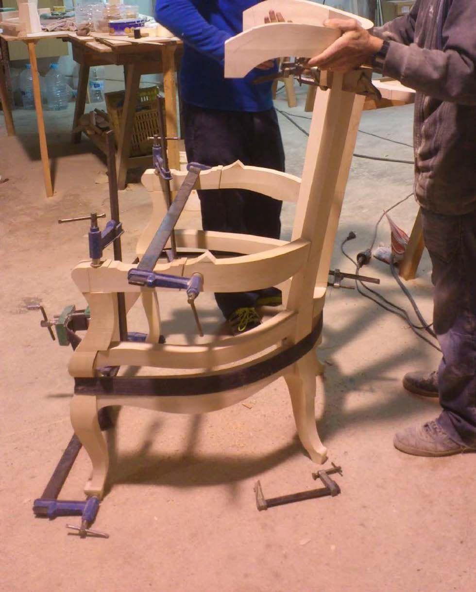 Muebles artesanales de madera en Valencia