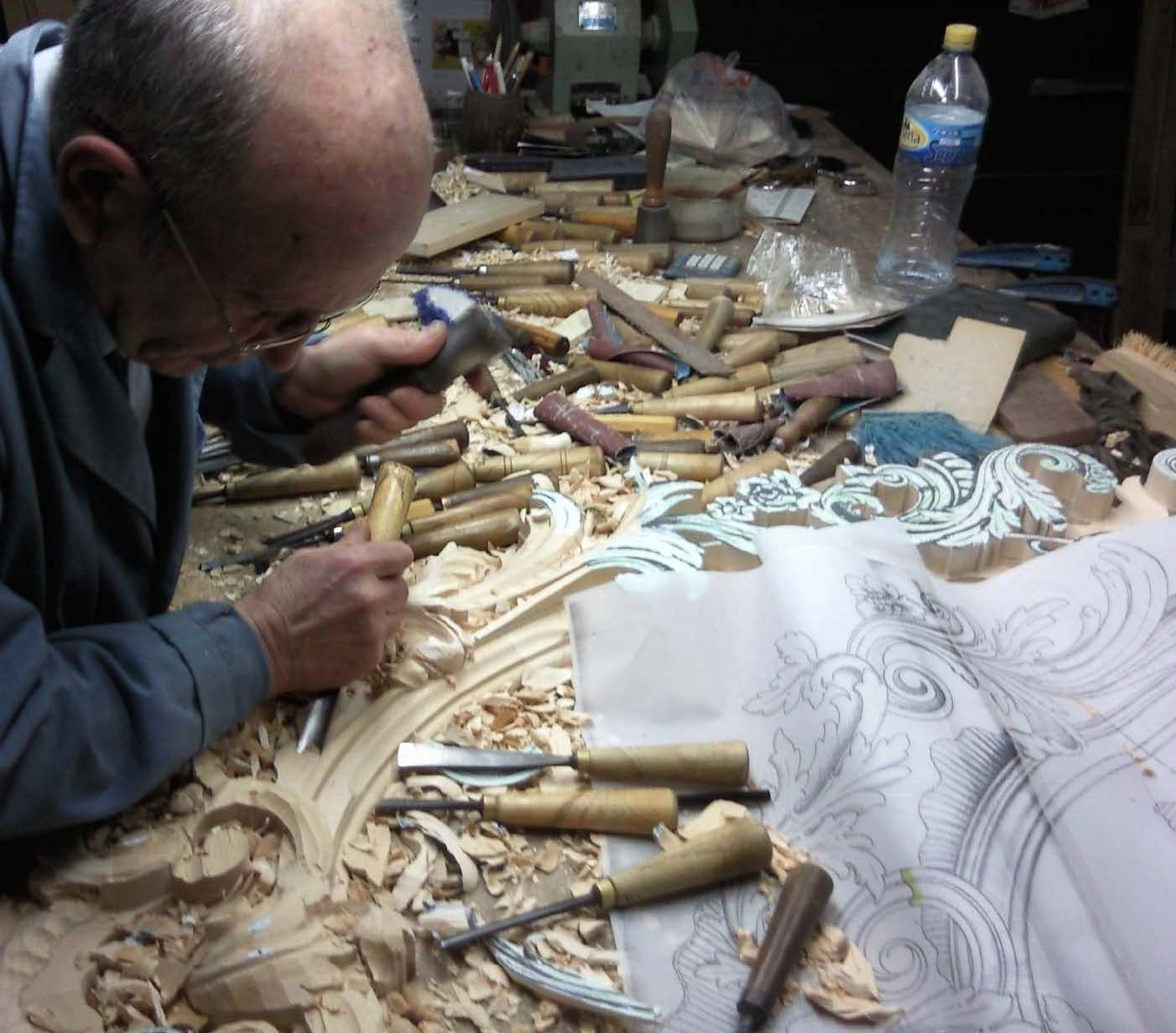 Carpinteros artesanos de la madera en Valencia