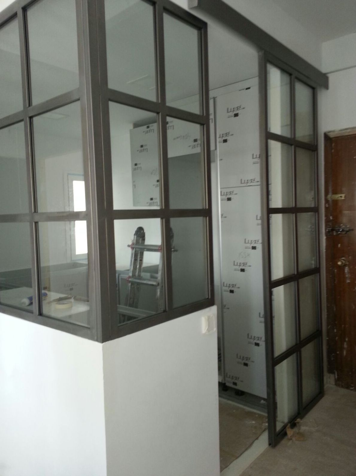 Cerramiento de cocina en hierro: Cerrajería de Cerrajería Dugaval
