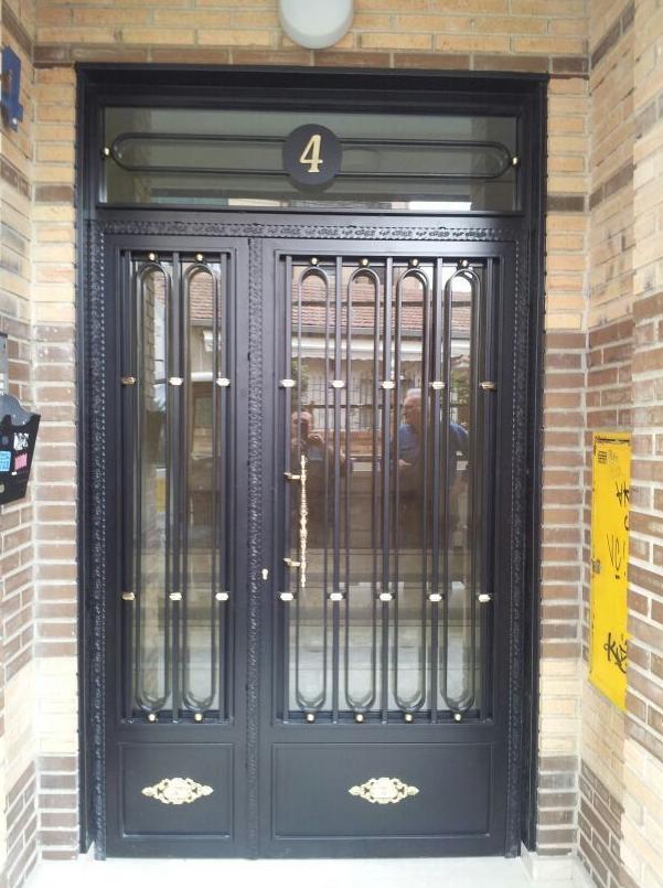 puertas de portal madrid