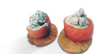 Rulada de salmón y queso azul: Productos de MartaPino Postres