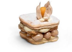 Milhojas de dulce de leche y limón: Productos de MartaPino Postres