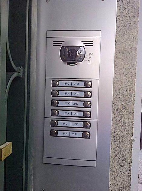 Placa Videoportero 2 Hilos TEGUI Serie7