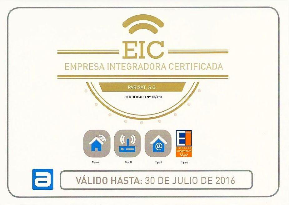 Empresa Integradora Certificada por Amiitel