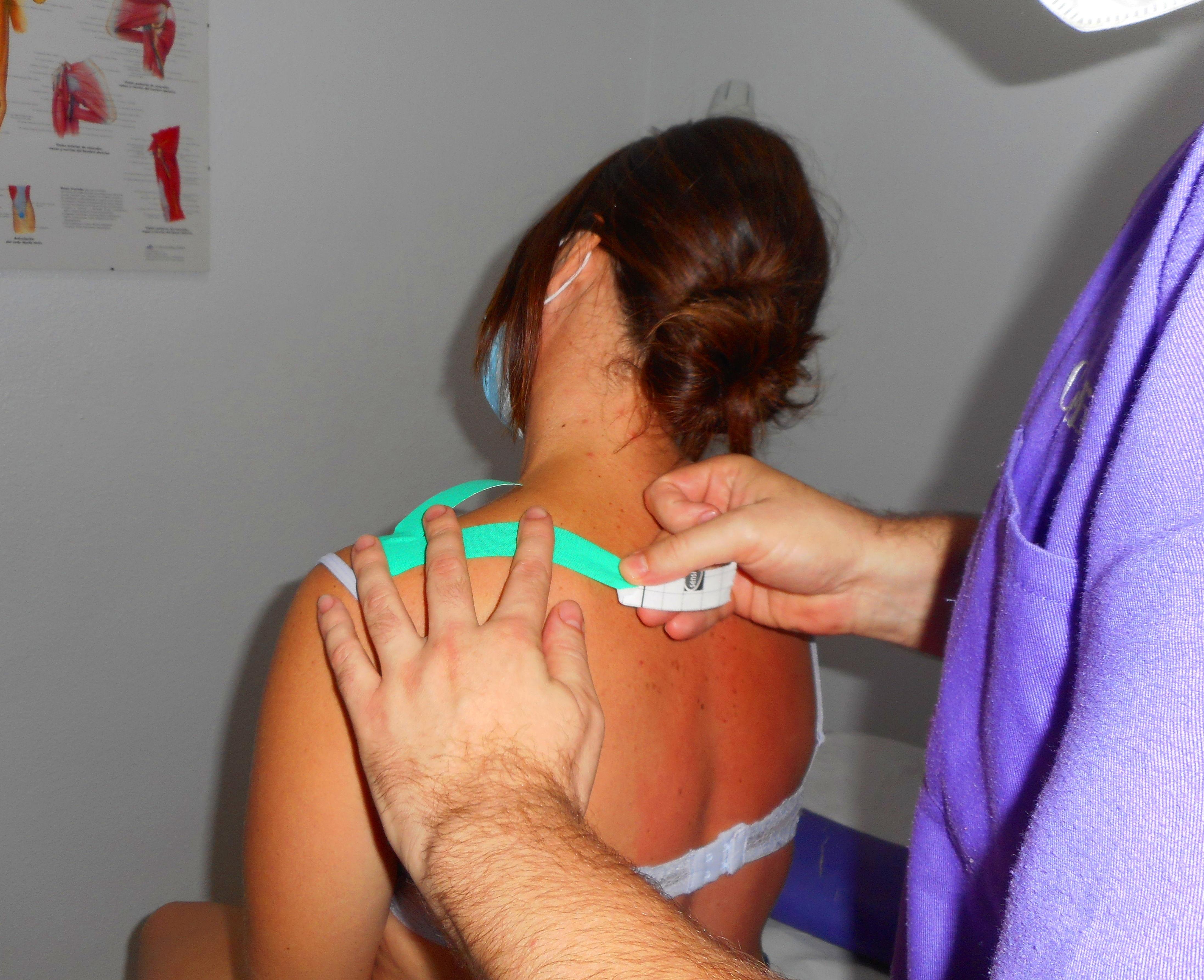 Vendaje neuromuscular o Kinesiotape: Catálogo/Servicios de Cefirem