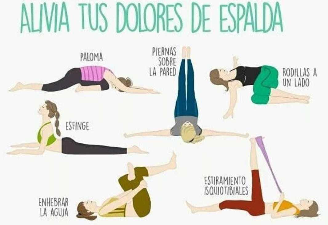 Aliviar los dolores de espalda